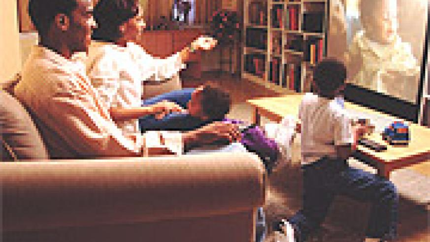 TV watching has substituted social family interaction.