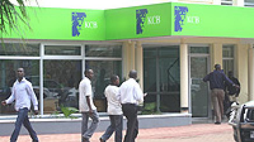 KCB branch in Kigali City. (File photo).
