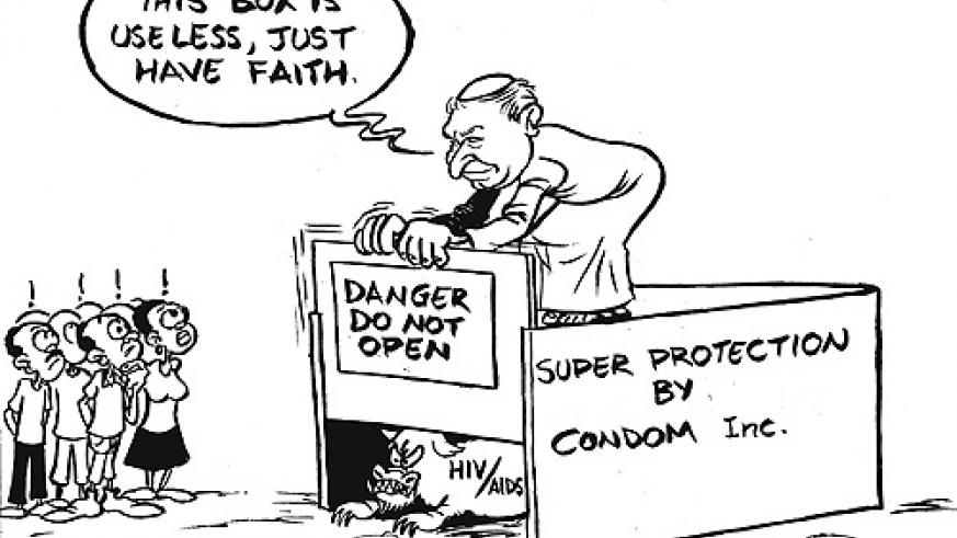 Pope Benedict XVI has caused an uproar, especially from medical experts for opposing the distribution of condoms in the fight against HIV/AIDS.