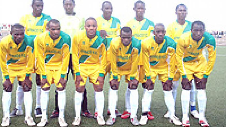 League leaders Atraco Fc will be looking to continue their impressive league topping form today as they face MVK side AS Kigali. (File photo)