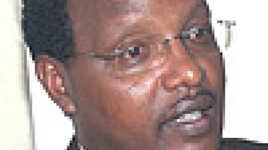 State Minister for Energy and Water Dr Albert Butare.