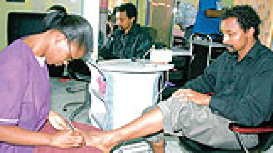 Pedicures are also health services