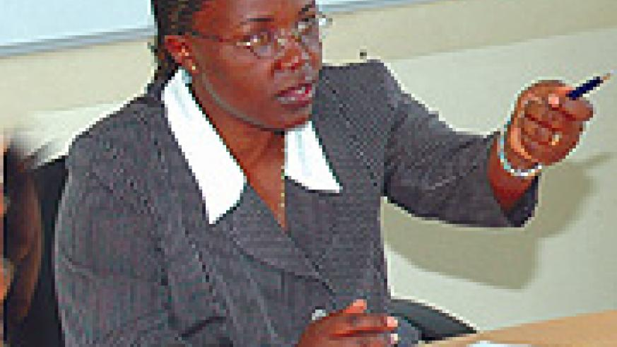 Jeane d'Arc Mujawamariya as a lady and Minister of Gender and Family promotion will not stand exploitation.