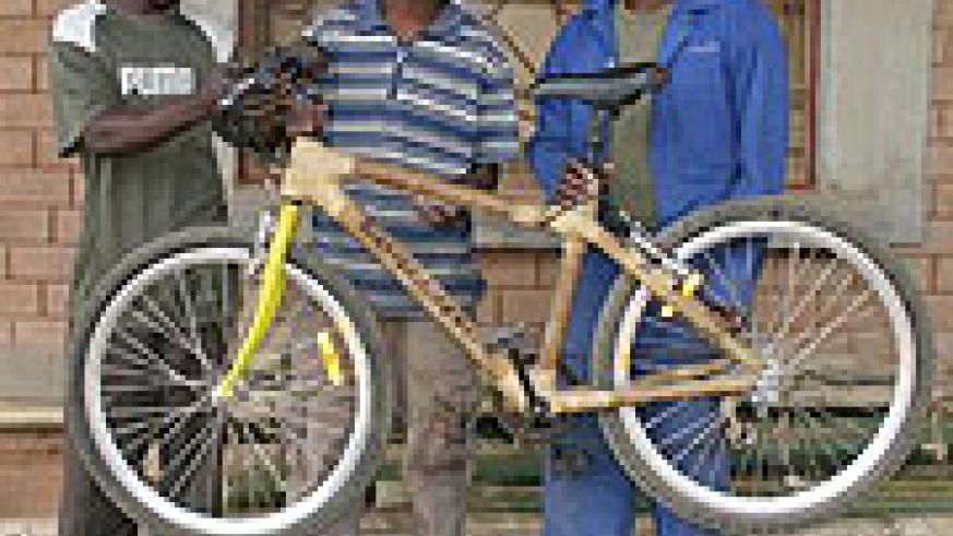 The fully manufactured bamboo bicycle