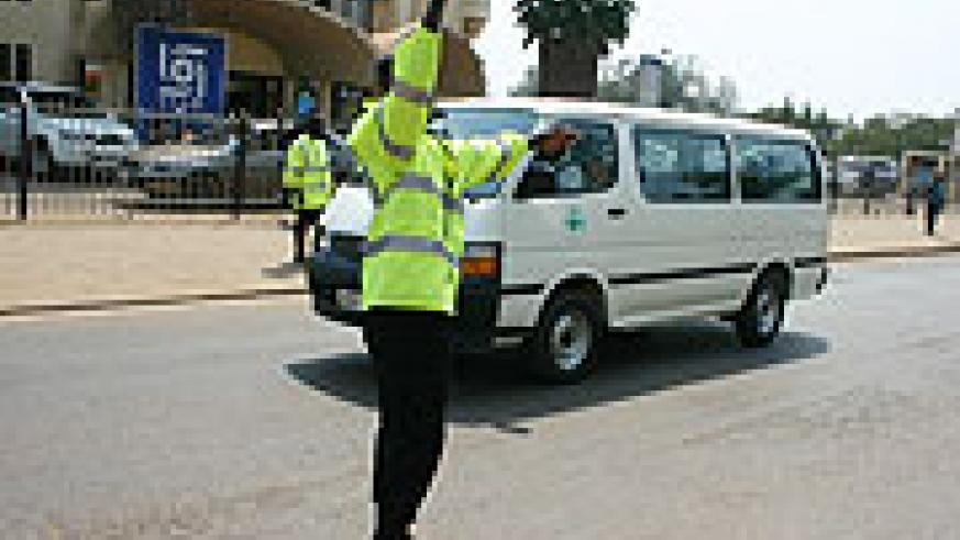 A Traffic Policeman doing his job. Sometimes they are guilty of abusing thier positions of authority.