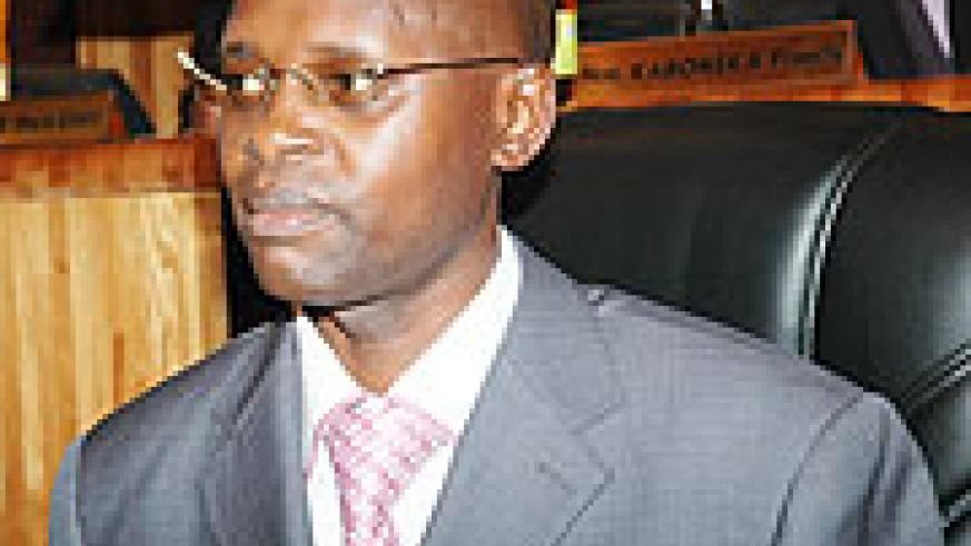 State Minister for Primary and Secondary Education Dr Mathias Harebamungu