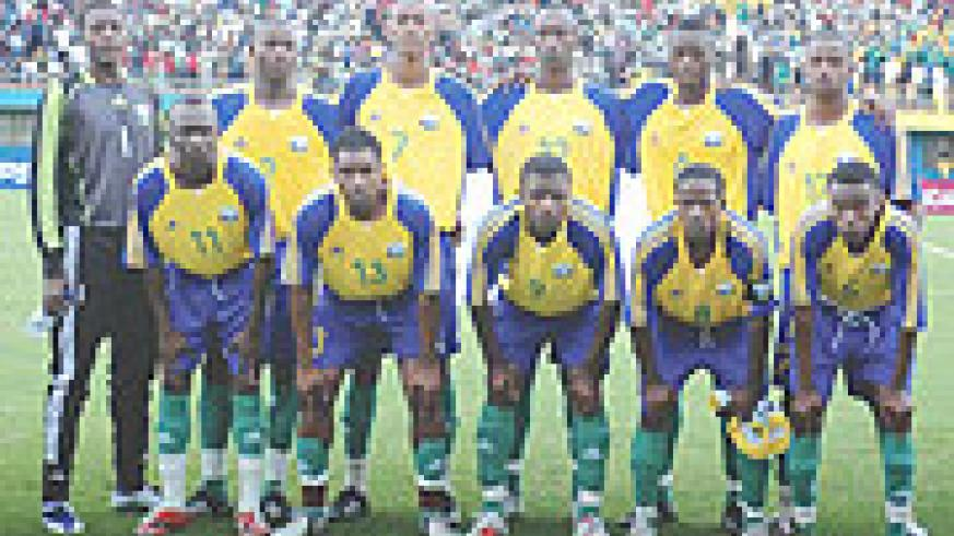 The U-20 team  which played in the Africa Youth Championship.