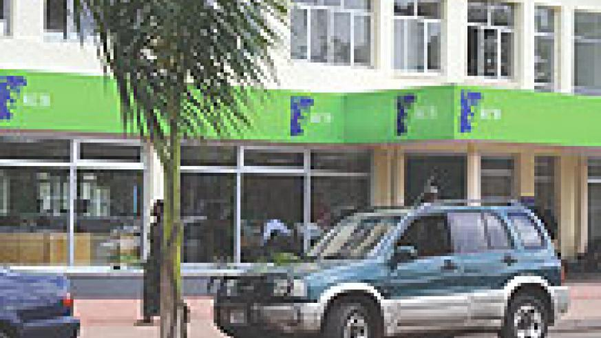 Kenya Commercial Bank Kigali Main Branch.(File photo)
