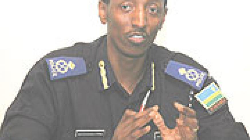 CID boss Christophe Bizimungu clarifying on the new project that welcomes complaints and compliments from the public on police officers in order to boost service delivery and effectively assess performance.