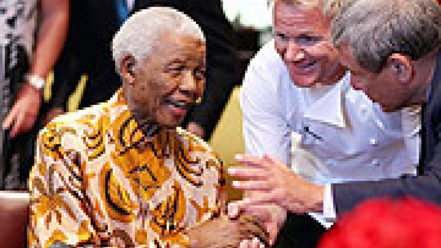 Nelson Mandela is still an icon