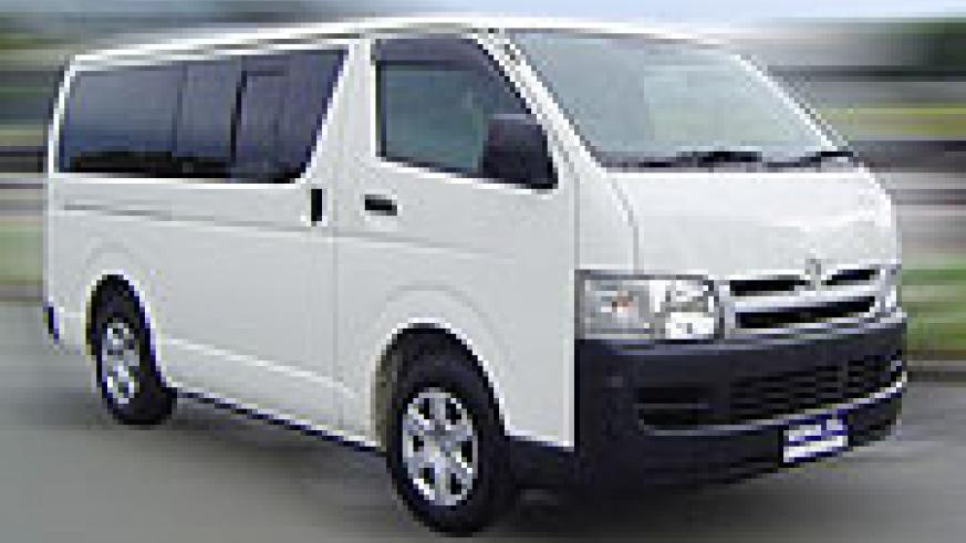 Toyota Hiace: One of this kind can no longer be cheaply acquired.