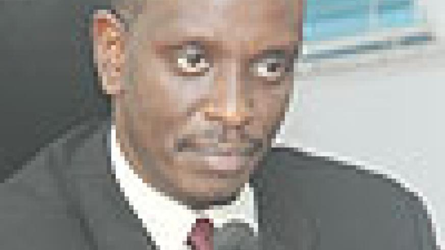 ON TRACK: Health Minister Dr. Richard Sezibera