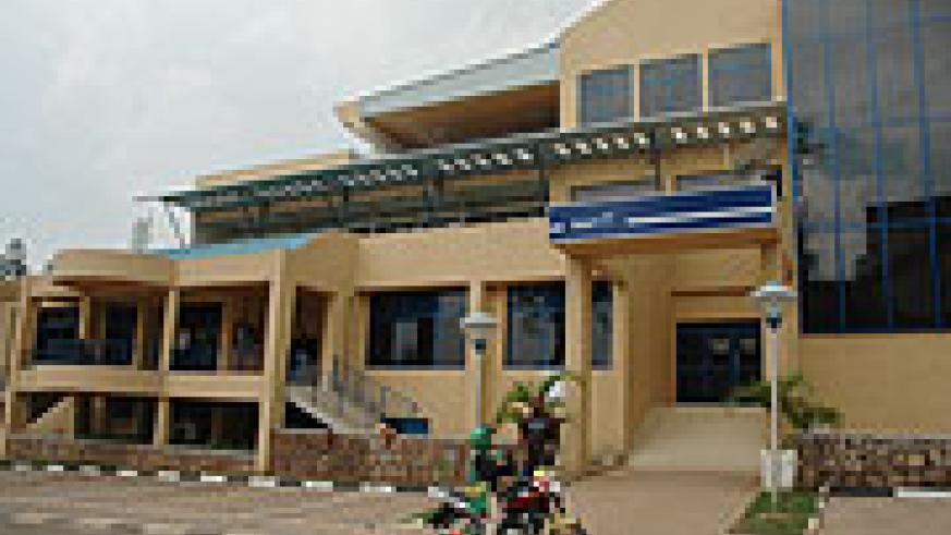 Newly renovated BCR branch in Kigali City (File Photo)