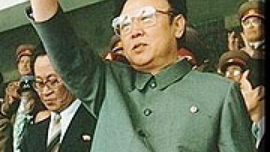 An undated photo of the reclusive North Korean leader, Kim Jong-Il