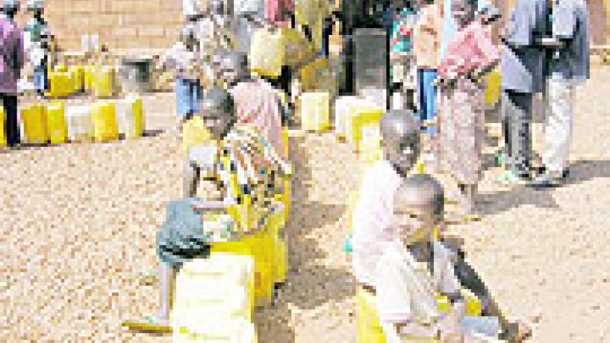 Water scarcity has led to increased drop out rates