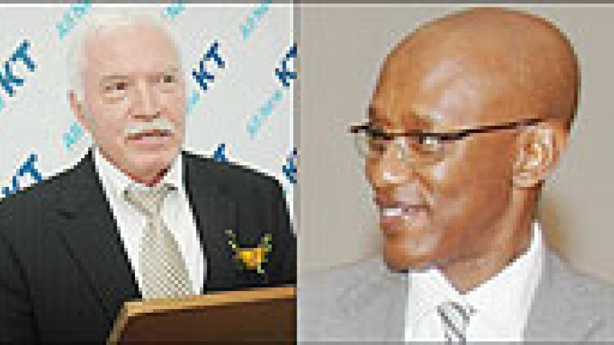 L-R: RDB BOSS: Joe Ritchie;TASKED: Dr. David Himbara