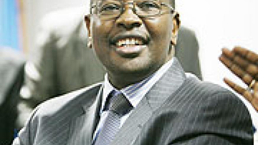 Minister of Finance James Musoni