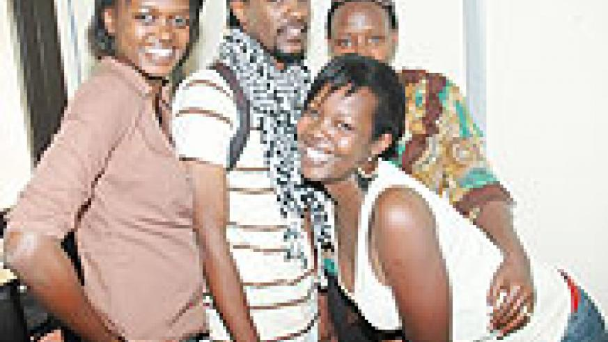 Former Tusker Project Fame contestant, Christian, with excited fans