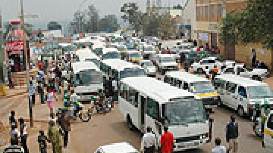 A traffic jam in Kigali. A dynamic city should plan for growing populations