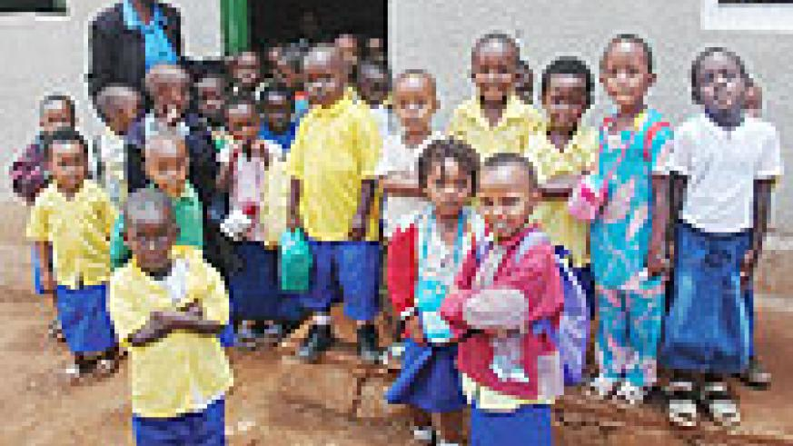 TARGETED; Nursery School Children in Gatenga, Kigali.