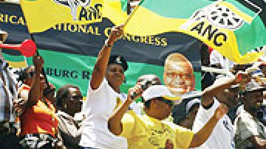 South Africa elections when we set the right example, children will likely pick it, and vice versa. (Net photo)