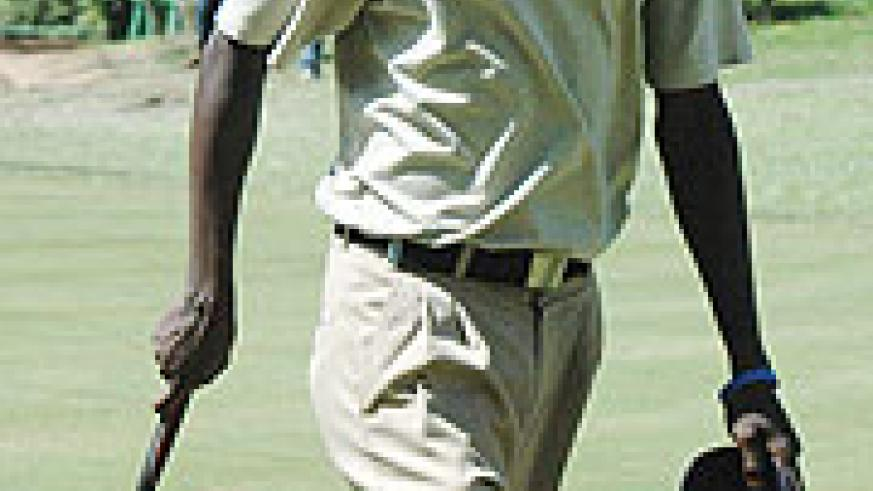 Ruterana finished second after carding 143 over 36 holes. (File photo)