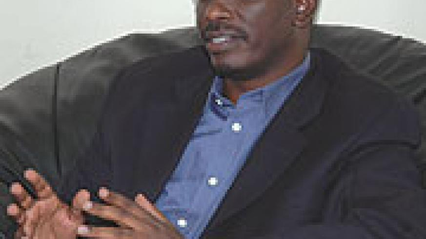 TAKING POSITIVE STEPS:  Richard Sezibera