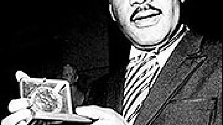 Martin Luther King Jr with the Nobel Peace Prize. The Nobel Commitee chose President Obama as this year's recipient, causing a global debate.