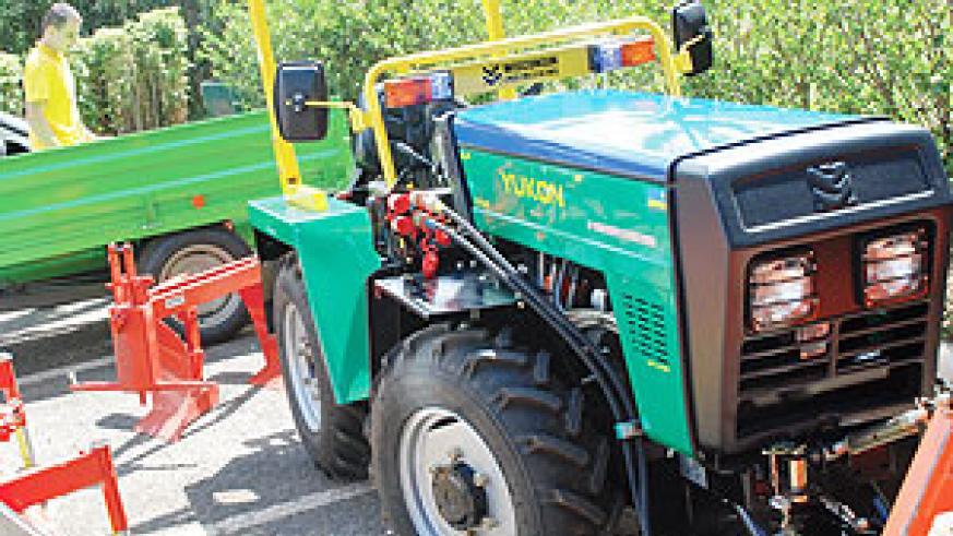 Rwanda will be able to export the tractors to neighboring countries.