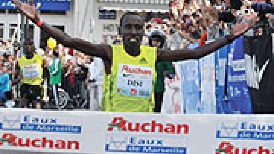 GOLDEN DISI:  The athlete stormed to his fourth gold in as many weeks over the weekend. (File Photo)