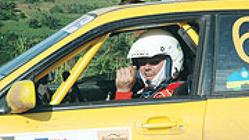 Davite Giancarlo claimed this year's KCB Mountain Gorilla rally to open up a healthy lead at the top of the national rally championship table.