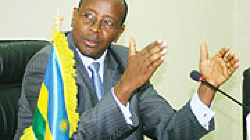 Minister of Finance and Economic Planning, James Musoni
