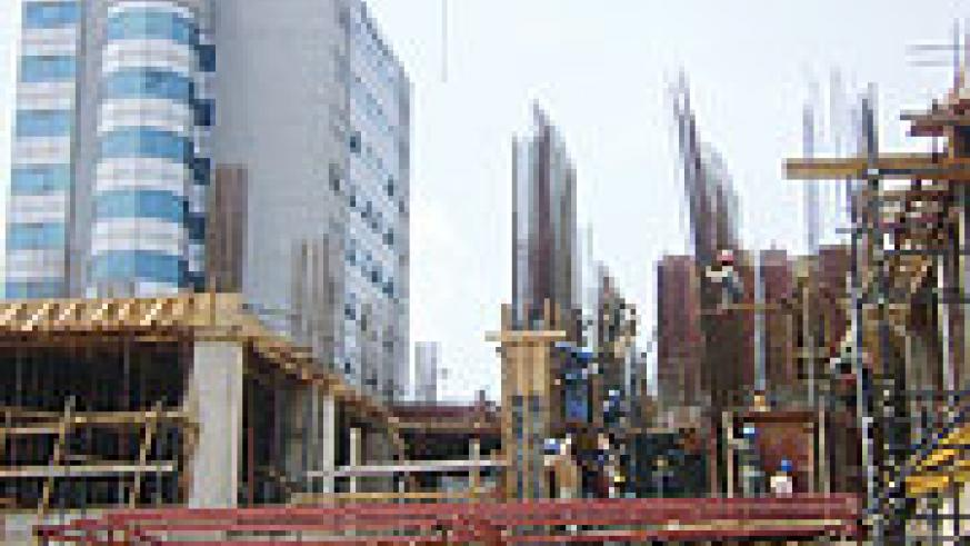 The construction industry has attracted more invesments. (File Photo)