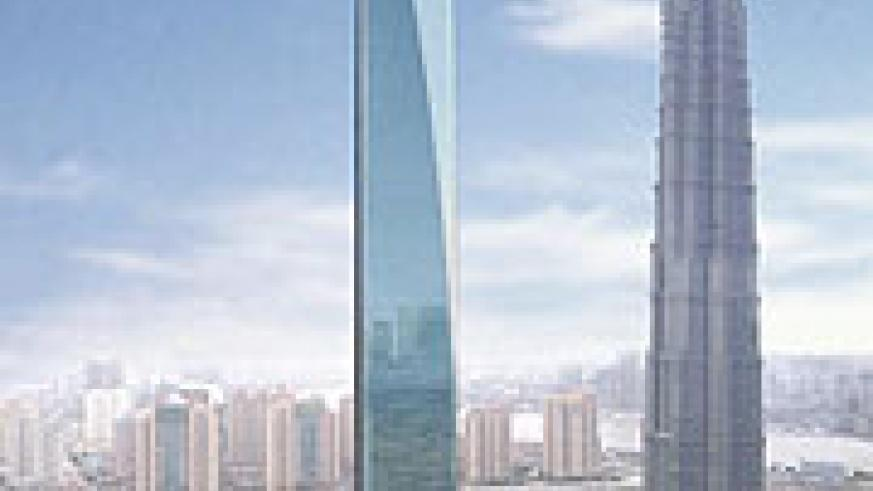 Shanghai's World Financial Center - China's tallest building