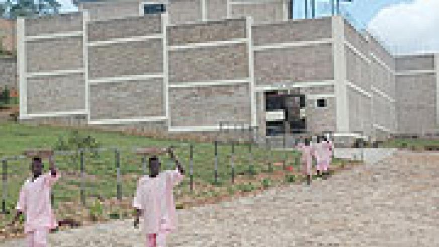 Mpanga Prison Special Wing that will house convicts from Sierra Leone. (Photo/ J. Mbanda)