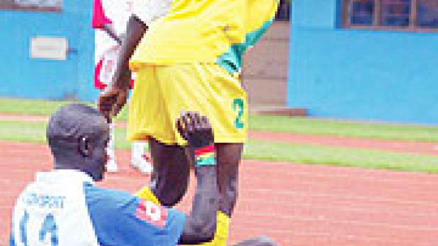 ON HOLD: the national league will resume after Amavubi's qualifier against Zambia. (File Photo)