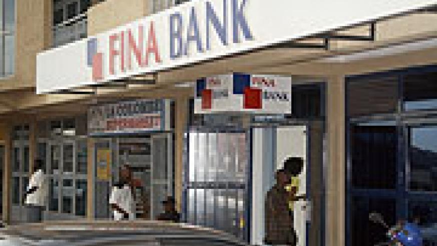 FINA Bank Branch in Remera (File Photo)