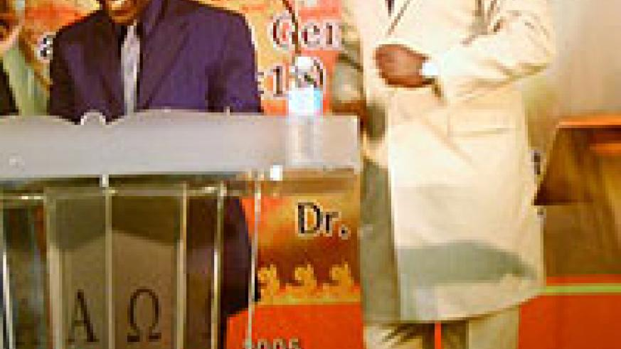 rwandan preacher, Apostle Paul Gitwaza (right), is his preaching 'opium of the masses'; a reader comment.