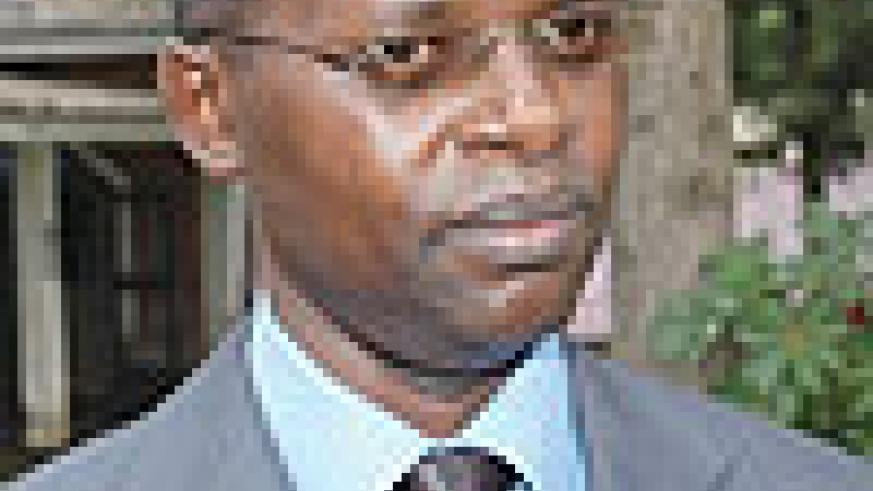 VOCATIONAL SKILLS, VITAL:  Minister Mathias Harebamungu.