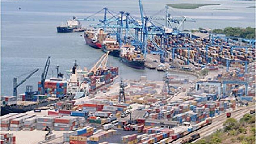 Container terminal at Mombasa Port. (Courtesy Photo)