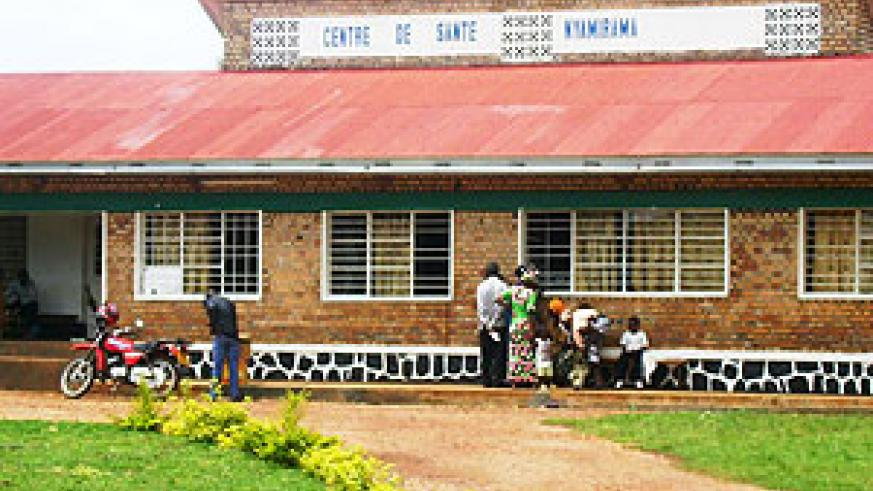 Nyamirama health centre whose management is at the centre of controversy. (Photo: S. Rwembeho)