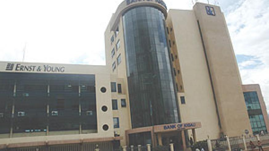Ernest &Young offices at Bank of Kigali Building. ( File Photo)