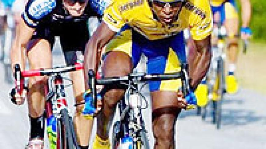 YET TO MAKE AN IMPRESSION: Team Rwanda's Adrien Niyonshuti has struggled to make his presence felt in the first five stages. (File photo)