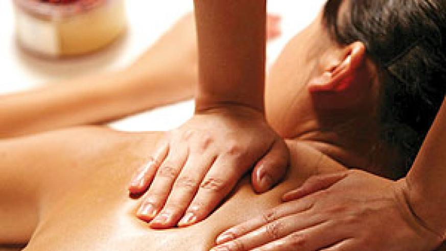 Get a massage to relax your back muscles. (Net photo)