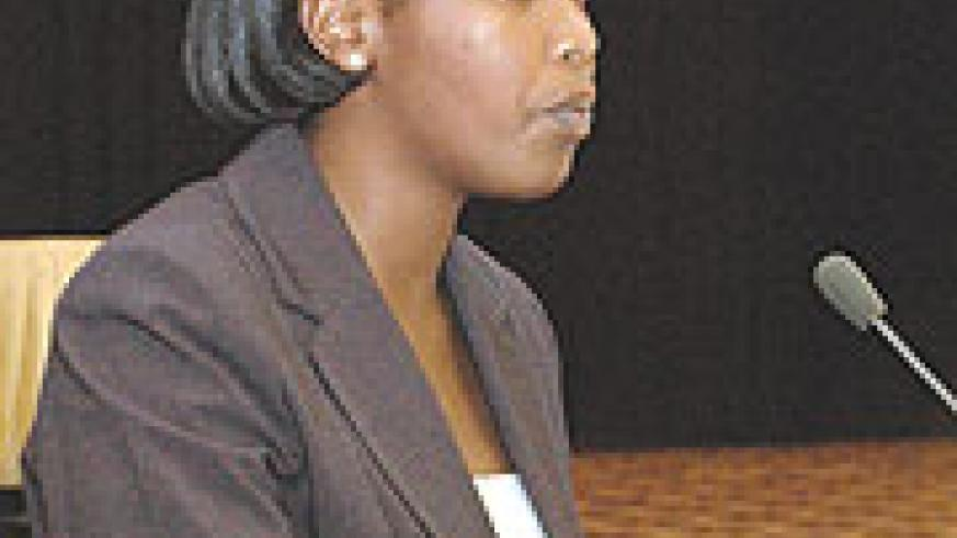 Clare Akamanzi, Deputy CEO in charge of Business Operations and Services.(File photo)