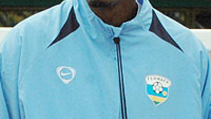 NEW BOSS: Eric Nshimiyimana has been named the Amavubi Stars interim coach until a new permanent boss is found.
