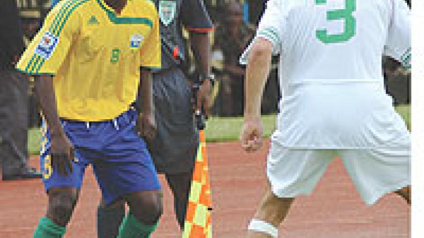 TOLD TO STEP UP: Amavubi's Haruna Niyonzima is one of the most experienced players in the side.