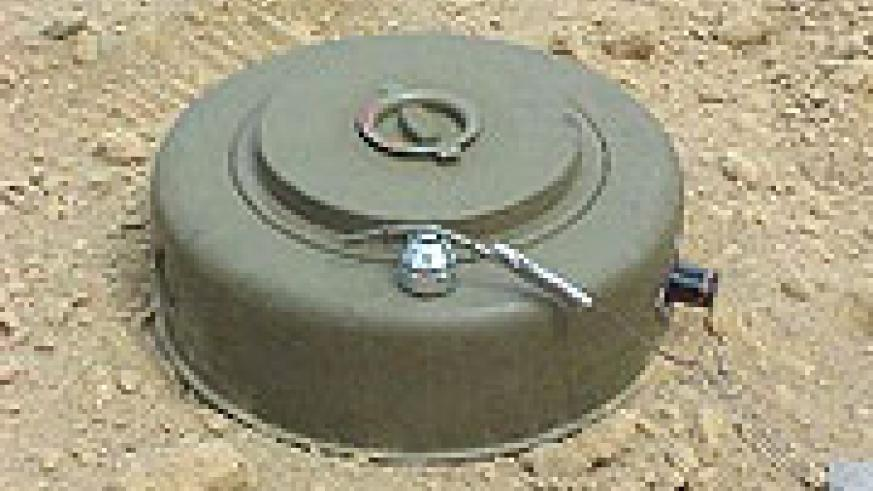 DEADLY: Most victims of landmine explosions lose their lives