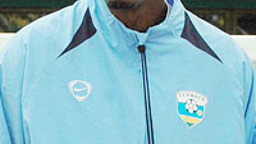 New boss Eric Nshimiyimana. Former Amavubi skipper is now the coach of the national team.
