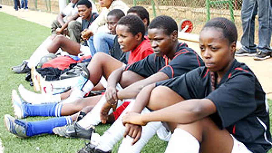APR substitute players look on during last season's league clash with Rayon Sport. Unlike their rivals APR will start pre-season training two weeks before the 2010 season start on January 17.